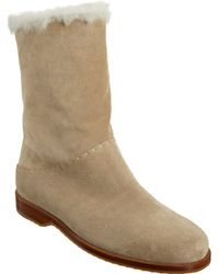 Henry Cuir - Shearlinglined Midcalf Boot - Lyst