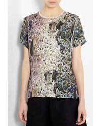 Theyskens' Theory Ispah Printed Tshirt - Lyst