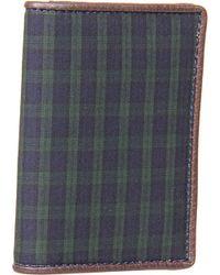 Jack Spade Cotton Blackwatch Vertical Flap Wallet - Lyst