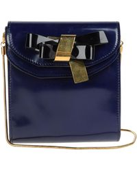 Vionnet Small Leather Bag - Lyst