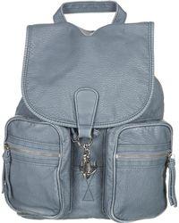 Topshop Large Washed Clip Backpack - Lyst