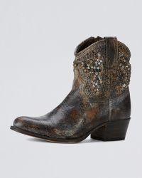 Frye Deborah Studded Boot - Lyst
