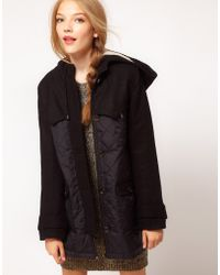 ASOS Collection Asos Wool Mix Swing Jacket - Lyst