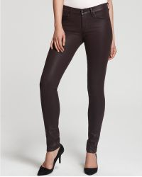 Juicy Couture Coated Skinny Jeans - Lyst