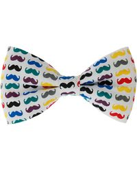 Topman Moustache Bow Tie - Lyst