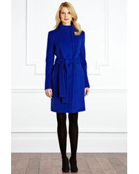 Coast Alissa Coat blue - Lyst