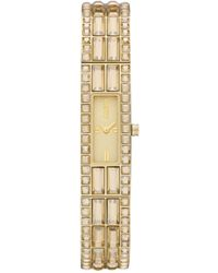 DKNY Women'S Gold Ion Plated Stainless Steel Bracelet 13X33Mm Ny8630 - Lyst