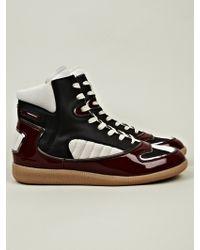 Maison Margiela Mens High Top Sneaker - Lyst