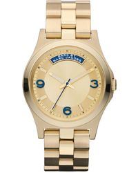 Marc By Marc Jacobs Womens Gold Ion Plated Stainless Steel Bracelet 40mm - Lyst