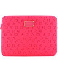 Marc By Marc Jacobs - Pop Pink 13 Laptop Case - Lyst