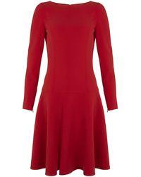 Michael Kors Wool Dress - Lyst