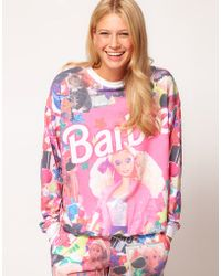 ASOS -  Sweatshirt in Barbie Print - Lyst