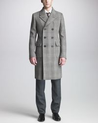 Burberry Prorsum - Prince Of Wales Coat - Lyst