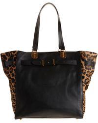 Christian Louboutin Ponyhair Sybil Leopard Shopper - Lyst