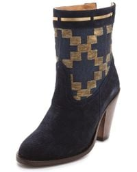 Cobra Society Canon High Heel Booties - Lyst