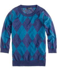 J.Crew Tippi Sweater in Argyle - Lyst