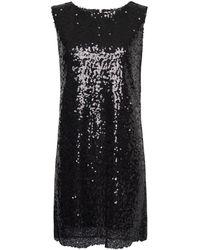 Mango Sequins Dress - Lyst