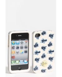 Tory Burch Floral Iphone 4 Case - Lyst