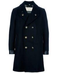 Burberry Brit Wool Coat - Lyst