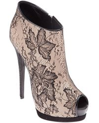 Giuseppe Zanotti Lace Ankle Boot - Lyst