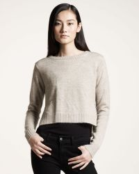 Gryphon - Cropped Sweater - Lyst