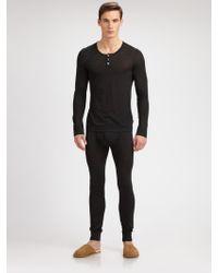 Hanro Fine Merino Wool Shirt - Lyst