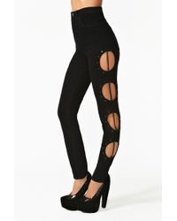Nasty Gal Hyperlink Jeans - Lyst
