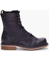 Dr. Martens Black Leather Pier Boots - Lyst