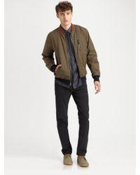 Marc By Marc Jacobs Cotton Nylon Jacket - Lyst