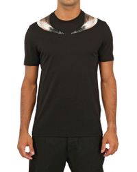 Givenchy Minotaur Horn Jersey Slim Fit T-Shirt - Lyst