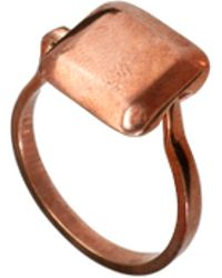 Husam El Odeh - Exclusive To Asos Turning Stone Ring - Lyst