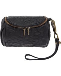 Alexander Wang - Small Black Fumo Pebble Leather Case - Lyst