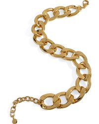 R.j.graziano Goldtoned Chain Choker Necklace - Lyst