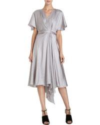 Boudicca - Flutter Sleeve Dress - Lyst