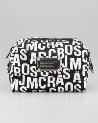 Marc By Marc Jacobs Pretty Nylon Printed Cosmetic Case Small white - Lyst