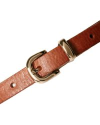 Oasis - Metal Tipped Leather Belt - Lyst