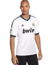 Adidas Climacool Real Madrid Home Jersey - Lyst