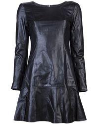 Theyskens' Theory Diri Dress black - Lyst