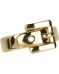 Michael Kors - Buckle Ring - Lyst