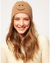 Boutique Moschino - Smiley Hat - Lyst