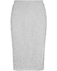 Reiss Sequin Skirt - Lyst