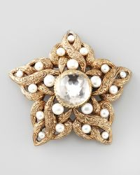 Stephen Dweck | Pearldetailed Star Brooch White | Lyst