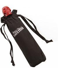 Jean Paul Gaultier Skull Folding Umbrella  red - Lyst