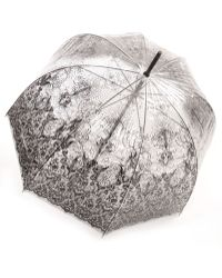 Jean Paul Gaultier Transparent Lace Print Umbrella - Lyst