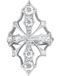 Stone - Diamond Hypnotic Voodoo Ring - Lyst
