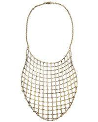 Anndra Neen - Cage Bib Necklace - Lyst
