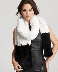 Diane von Furstenberg New Grosvenor Fur Scarf - Lyst