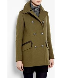 Belstaff Peat Chatham Wool Military Jacket - Lyst