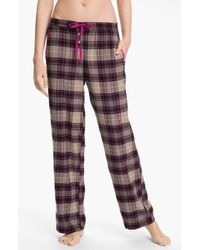 DKNY Mans World Flannel Pajama Pants - Lyst
