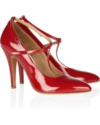Maison Margiela Patent Leather Pumps - Lyst